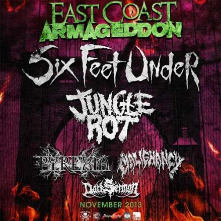 six feet under tour